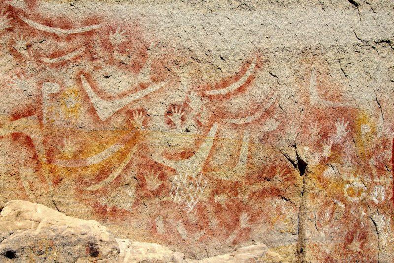 aboriginal paintings Carnarvon Gorge