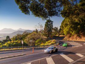 Porsche Tour on the Kuranda Range Stage