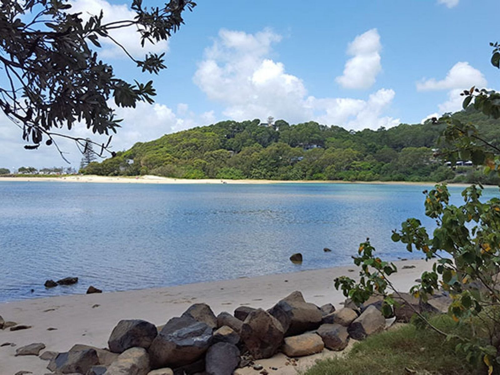 View of the coastline from Tarrabora Reserve