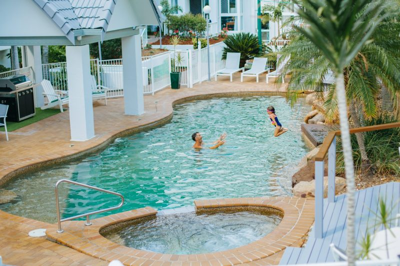 Enjoy a swim in the pool, soak in the hot tub, relax on a sun lounger or a cook up a delicious BBQ