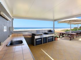 Beachfront BBQ Area