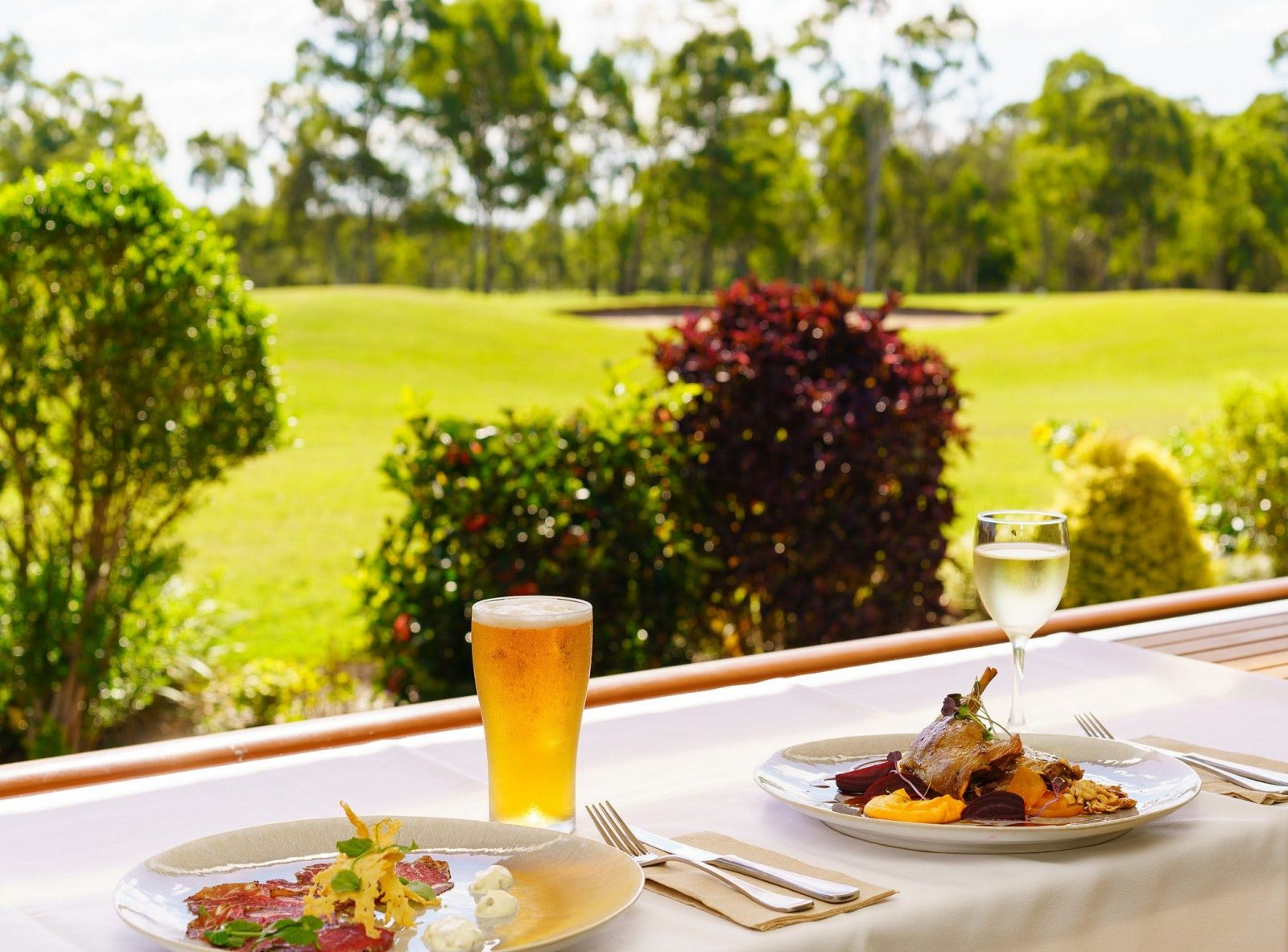 Enjoy the peaceful surroundings of the Hervey bay Golf Course