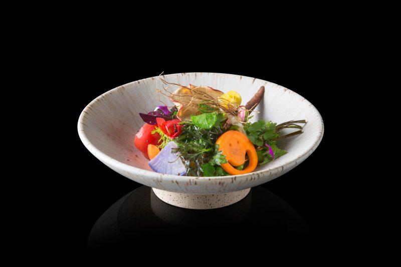 Japanese fine dining food