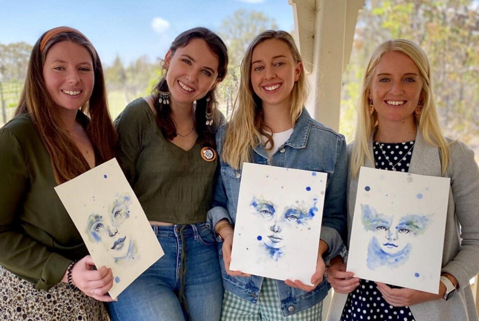 Emily Coelli watercolour workshop