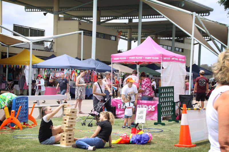 Up to 100 stalls of handmade, fun, activities and food.