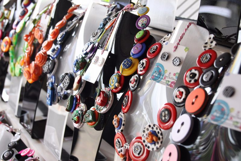 Addicted to Buttons are a regular stallholder at their monthly market in Ipswich.