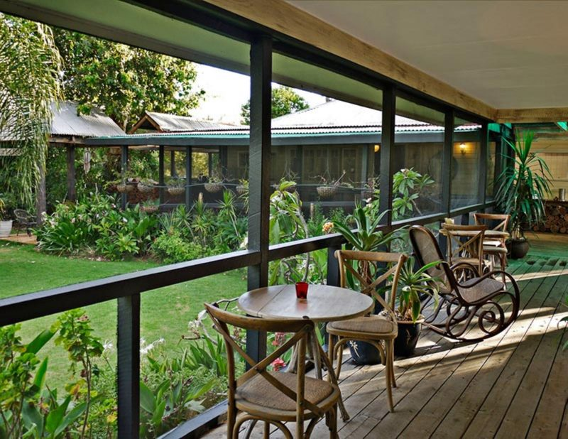 Enjoy a fresh buffet style continental breakfast on the homestead verandah.