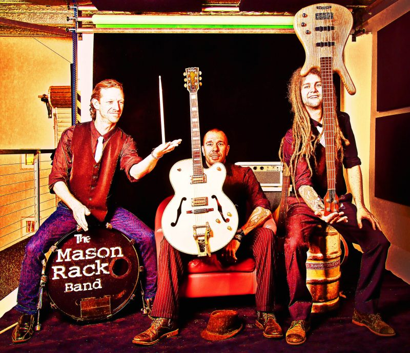 The Mason Rack Band - performing in The Bunker at The Imperial Hotel Eumundi on Saturday 9 February