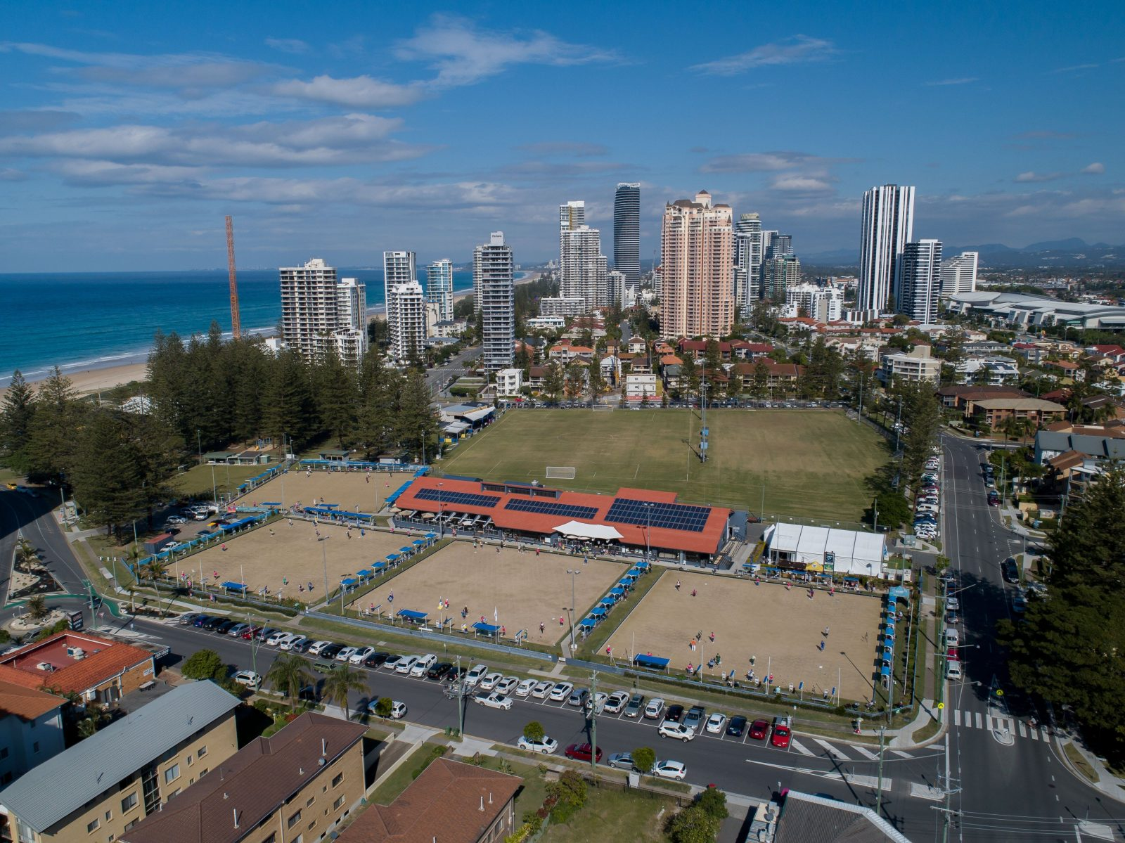 Gold Coast's idyllic Broadbeach Bowls Club