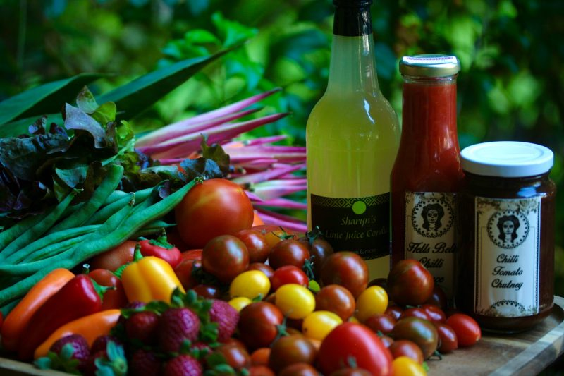 A range of local produce from the Greater Whitsunday Farmers Market