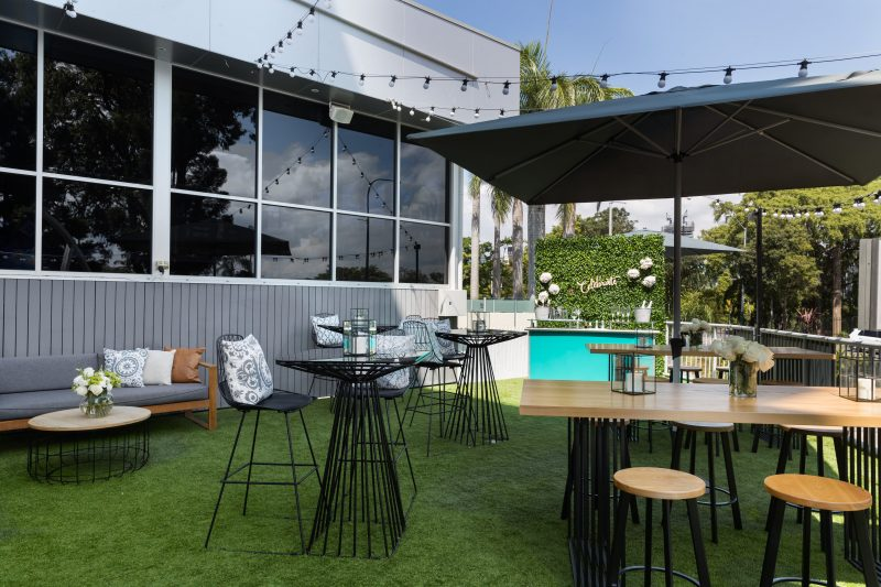 The Park Hotel Outdoor Area