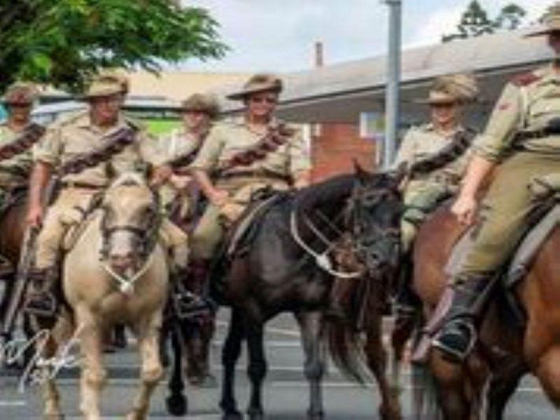 Buderim Australia Day Parade Lighthorse