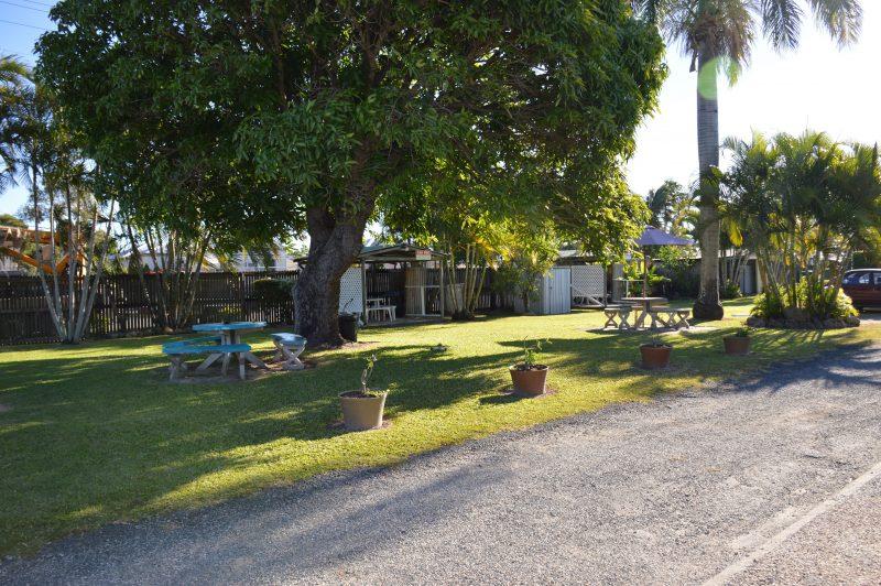 BBQ Lawn area
