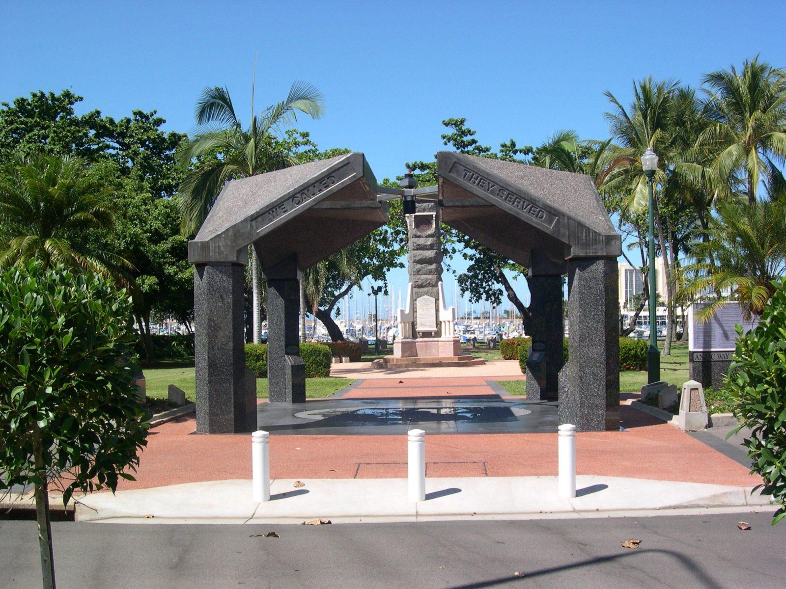 The Strand Park Townsville War Memorial
