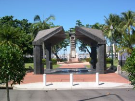 The Strand Park Townsville War Memorial
