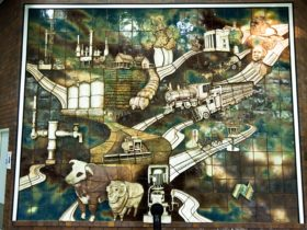 Three Dimensional Mural
