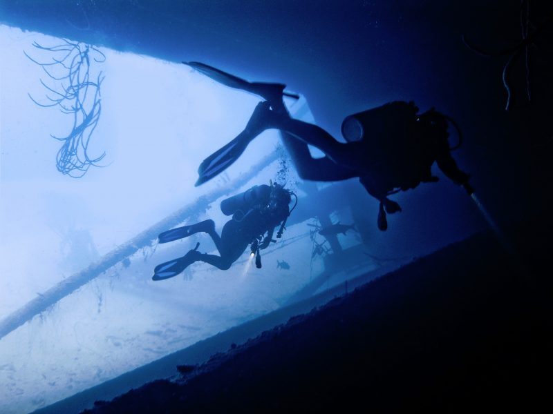 dive the EX HMAS Tobruk with us