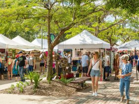 Transfers to the Eumundi Markets by Sunny Coast Tours