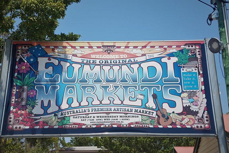 Transfers to the Eumundi Markets by Sunny Coast Tours
