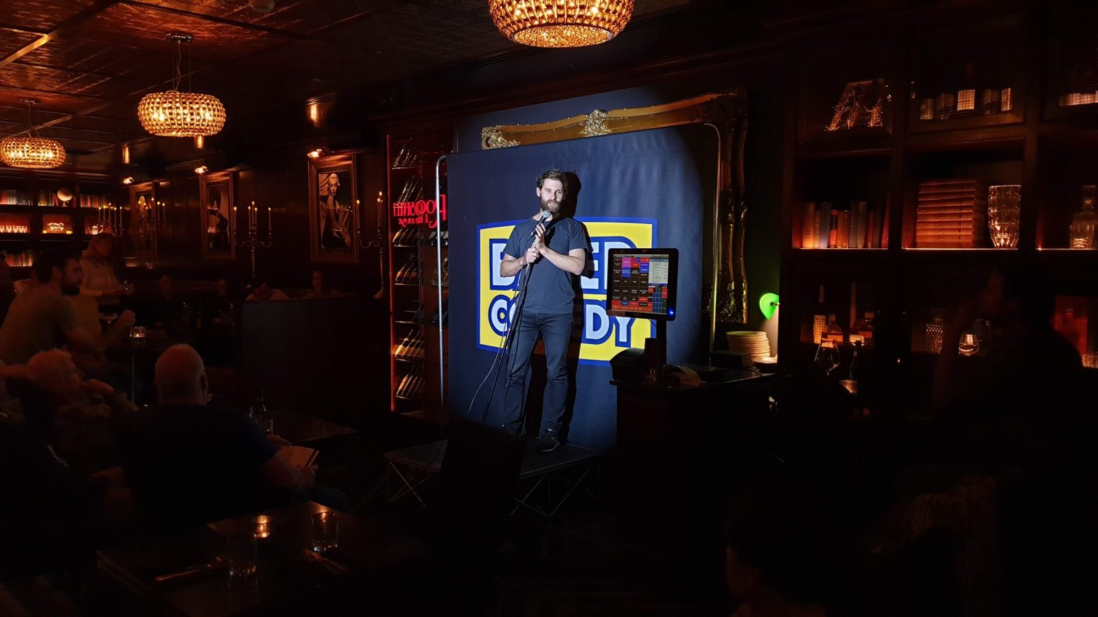 Based Comedy Comedy at Roosevelt Lounge with Luke Heggie