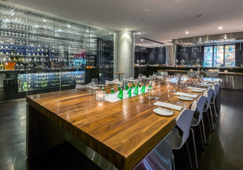 Vintaged Bar + Grill Chef's Table