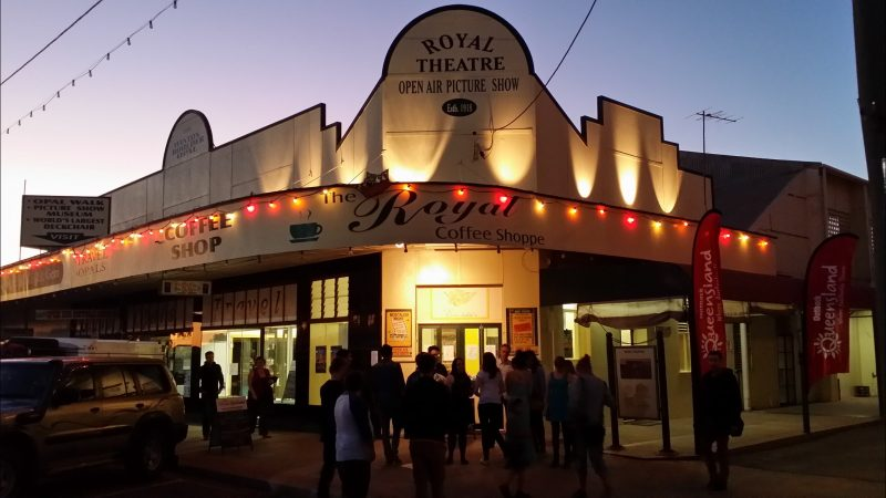 The home of Vision Splendid Outback Film Festival, Winton's Royal Open Air Theatre
