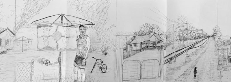 Artwork: 'Destination Duaringa' by Erin Dunne