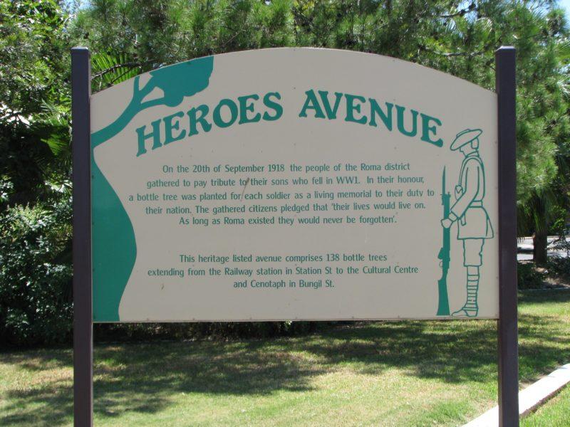 War Memorial and Heroes Avenue
