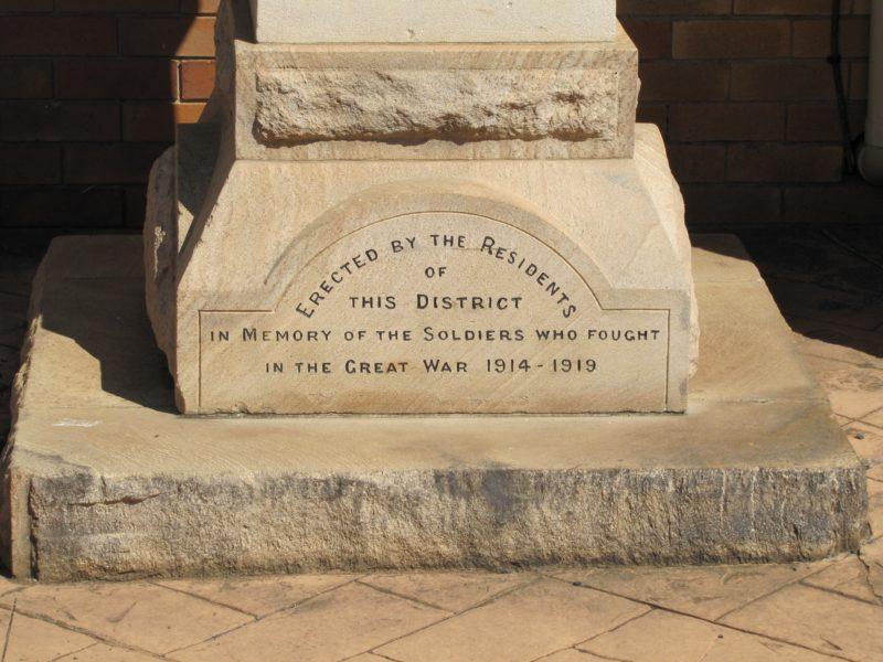 Westbrook War Memorial