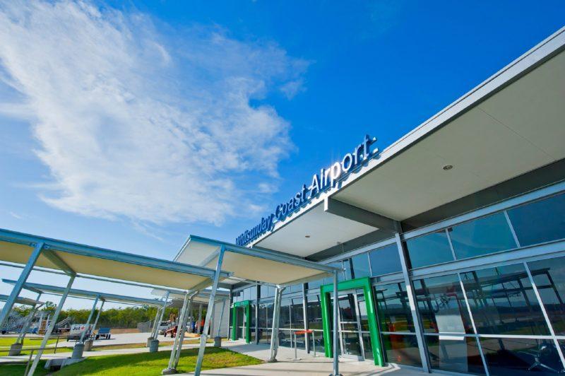 Whitsunday Coast Airport - Entrance