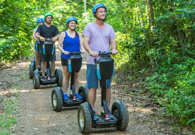 Fun small group Segway Tours in the Conway National Park, Airlie Beach, Whitsundays