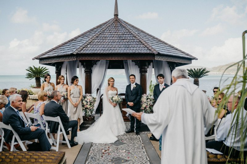 Pavilion Wedding Ceremony