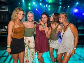 Hot girls on Wicked Club Crawl Surfers Paradise
