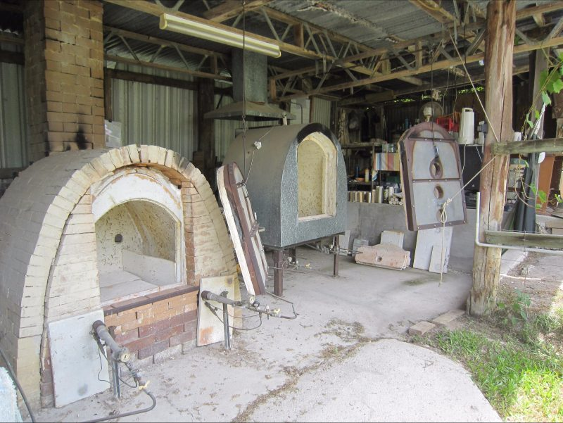 Gas Kilns at Windmill pottery