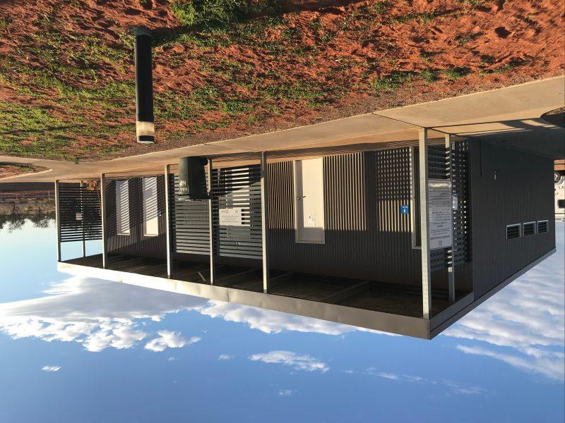 New amenities, including laundry, Windorah Caravan Park