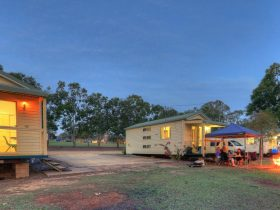 Yallakool Caravan Park on BP Dam