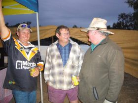 The Yellowbelly Fishing Competion is a great event to hang out and catch up with mates.