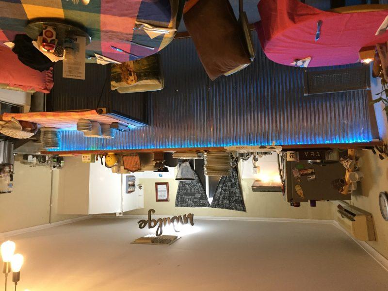 Inside the YBW cafe