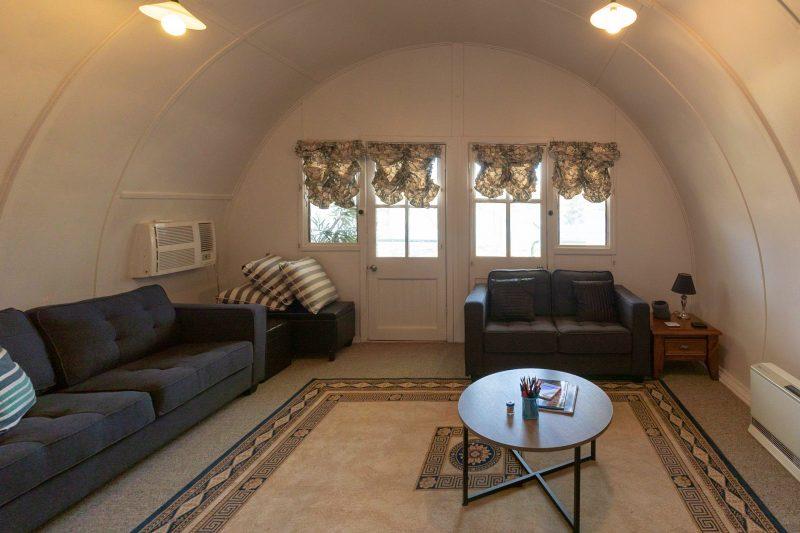 Unique shaped lounge