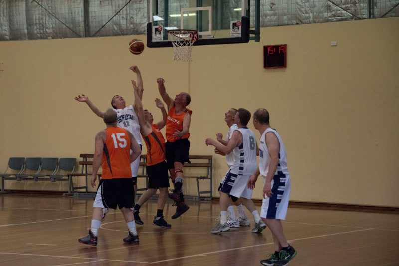 Basketball - tough under the ring!