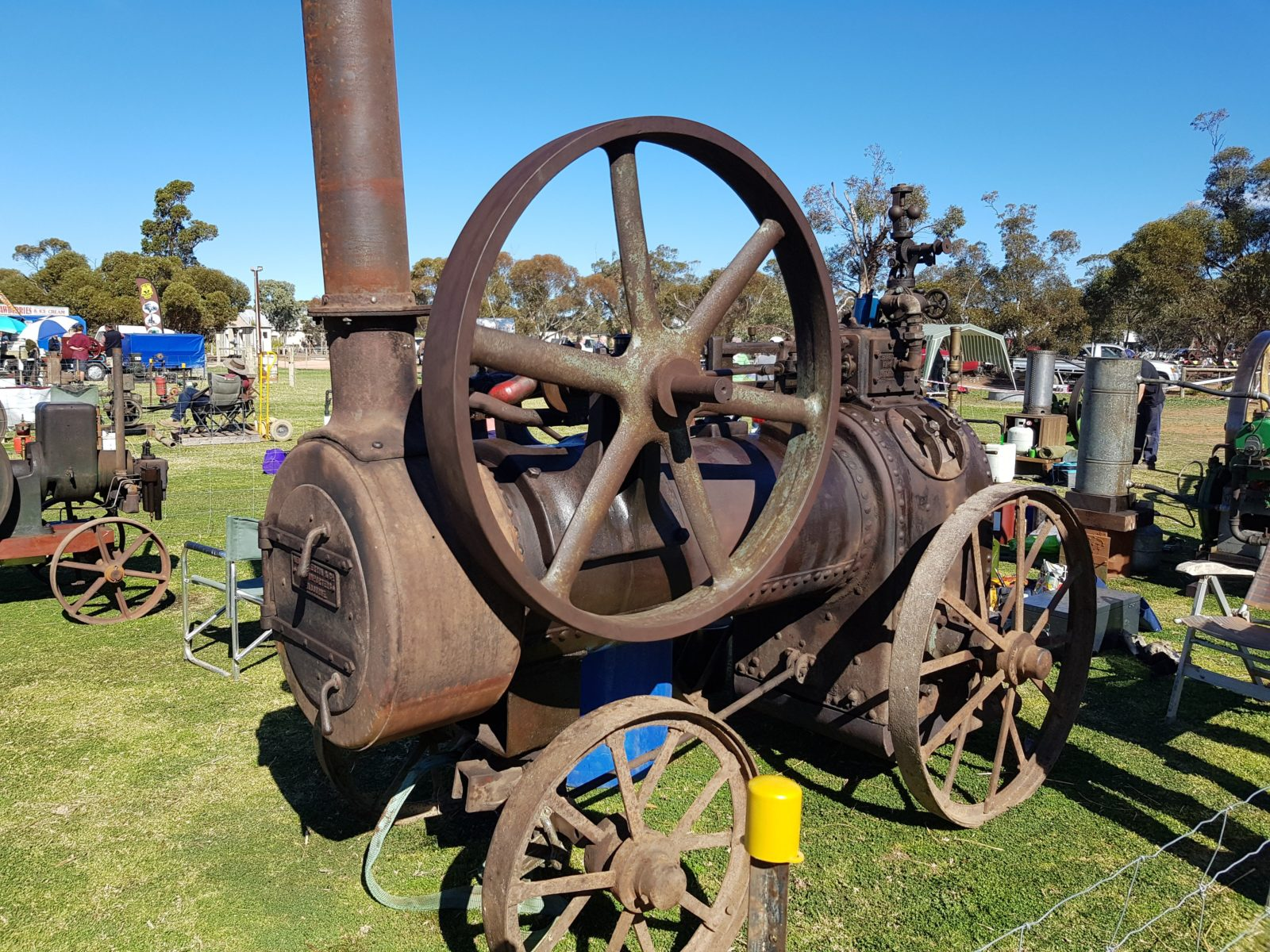 Portable steam engines