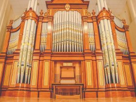 1875 Hill & Son Organ at Barossa Regional Gallery