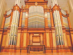 1875 Hill & Son Organ at Barossa Regional Gallery