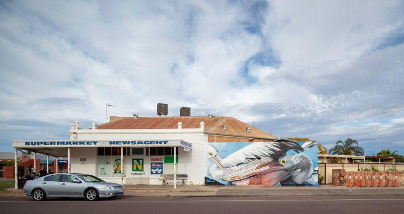 Dvate Street Art Colour Tumby Bay Mural Art South Australia