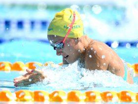 Jess Hansen Swimming