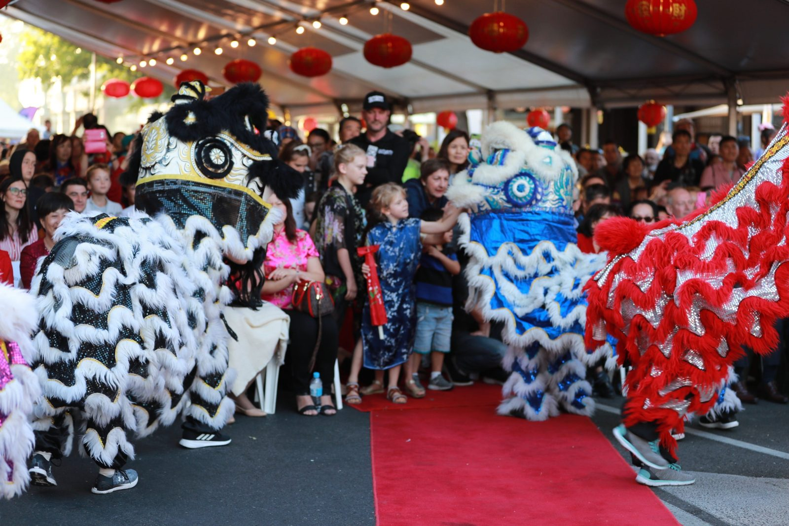 One of the most important performance every year in Lunar New Year Street Party!