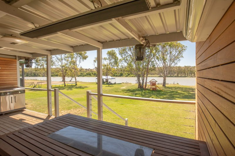 Riverfront holiday home