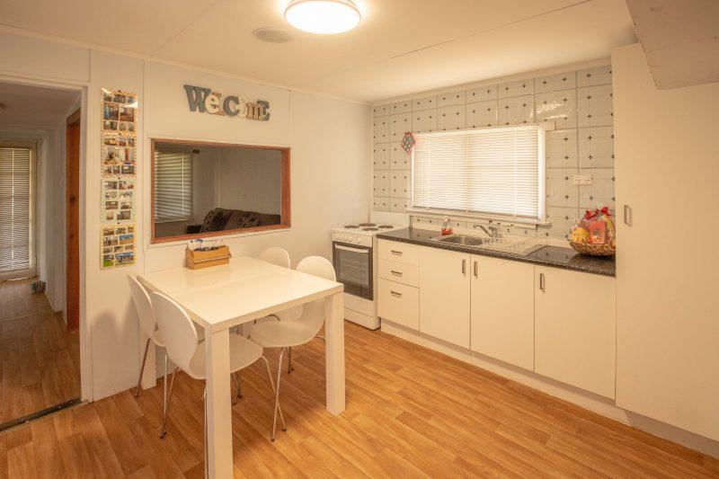 modern kitchen inside