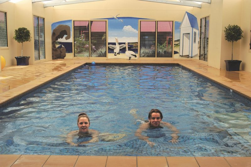 Heated Indoor Pool and Spa with Shower and Change Facilities