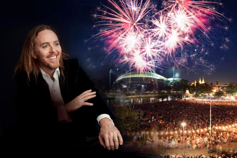 Tim Minchin in Elder Park